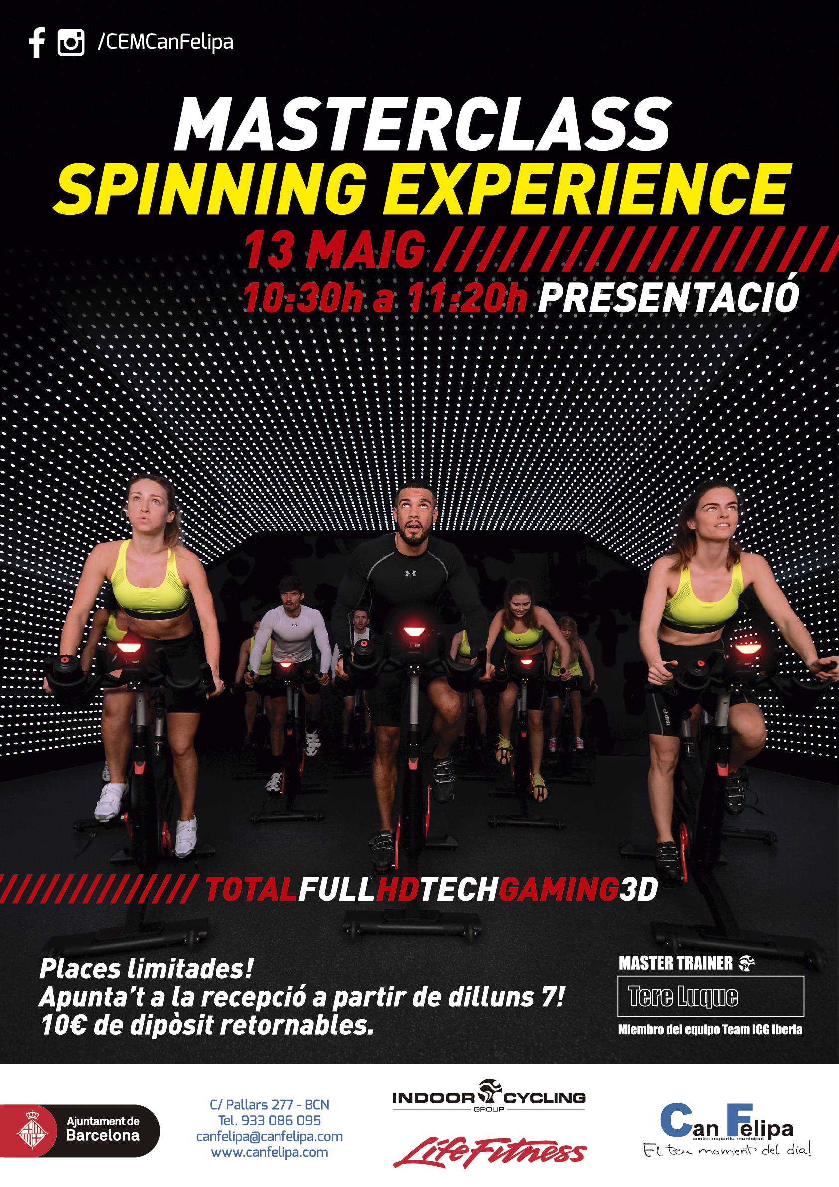 Spinning Experience